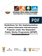 Legal guidelines for labour based construction