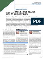 Delta Mu - CEM n° 46 - Des normes et des textes utiles au quotidien (6)