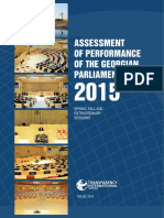 Parliamentary Work Report 2015