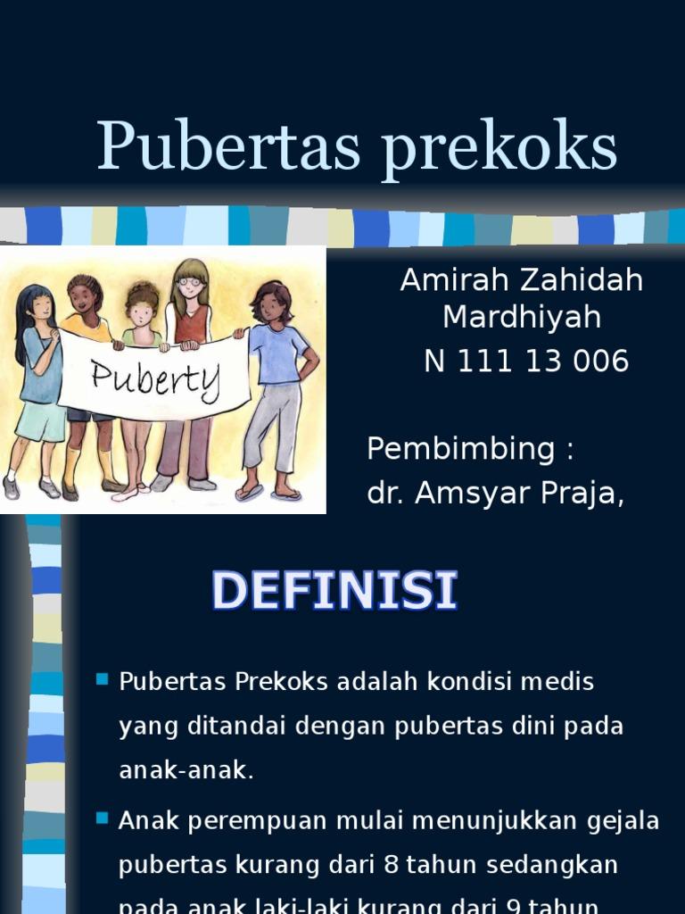 Poster Tentang Pubertas Anak Laki Laki | Contoh Poster