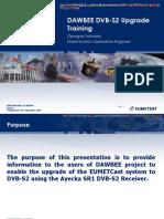 Dawbee Dvb-s2 Upgrade Training Ppt