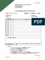 ELEG 220 01 and 02 SP15 Final Exam