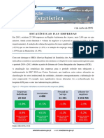 Estatísticas Das Empresas