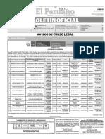 Diario Oficial El Peruano, Edición 9389. 11 de julio de 2016