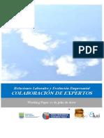 Relaciones Laborales y Evolución Empresarial. COLABORACION DE EXPERTOS