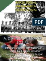 Interaksi Sosial Dalam Dinamika Kehidupan Sosial