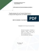 Implementação de Um Controle Digital Para o Compensador Regenerativo de Potência Ativa
