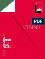 Dp France Inter 2015 2016