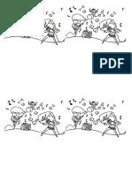 Desenhos de Dança