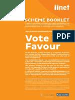 IINet Scheme and Final Offer