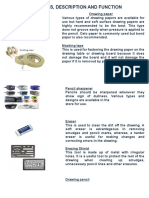 drafting tools and materials.docx