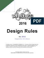 BattleBots Design Rules.rev 2016.2