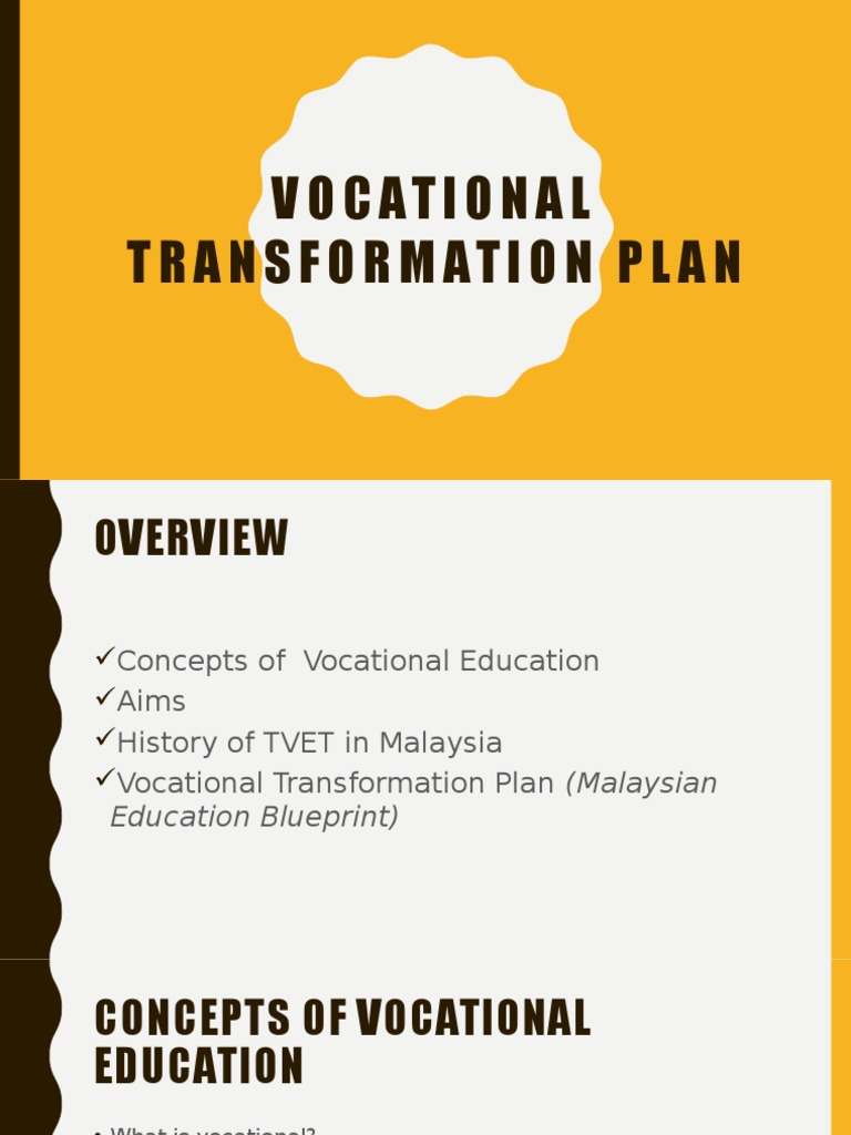 Vocational transformation plan vocational education secondary vocational transformation plan vocational education secondary education malvernweather Choice Image