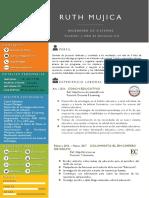 Curriculum Vitae Ruth Mujica