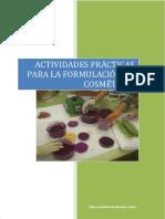 Actividades Practicas Para La Formulacion de Cosmeticos 1