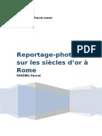 """Reportage Photo Sur Le """"Siècle d'or à Rome""""."""