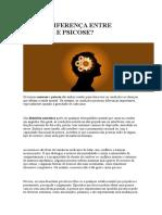 Qual a Diferença Entre Neurose e Psicose