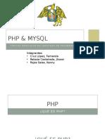 Php, Oracle y Mysql