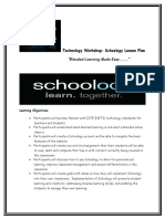 technology workshop lesson plan