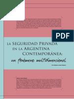 Seguridad privada en Argentina
