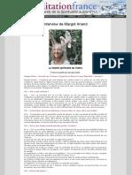 La Liberté Spirituelle Du Tantra. Interview de Margot Anand