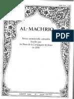 Machriq 86 (2012) Pomerantz, Ray'Ān Fī Al-wazīr Al-Ṣāḥib b. ʿAbbād (Al-Mashriq 86-1)
