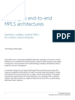 Evolving End-To-End MPLS Architectures TechWhitePaper