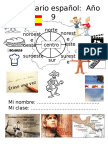 Y9 Spanish Vocabulary Guide 2011 FINAL