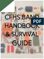 CFHS Band Handbook 2016