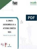 Estudio Socioeconómico de la Caza en Euskadi