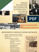TERCER MILITARISMO sanchez cerro.pptx