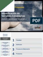 Identificación de Variables Estratégicas
