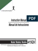 Manual Maquina de Cocer Soon Good