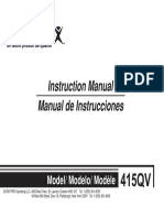 Manual Maquina de Cocer Soon Good