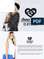 Anna Smith Clothing Range Look Book