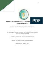 La Incidencia de Las Tecnicas de Reproduccion Humana Asistida en La Filiacion _Marisol
