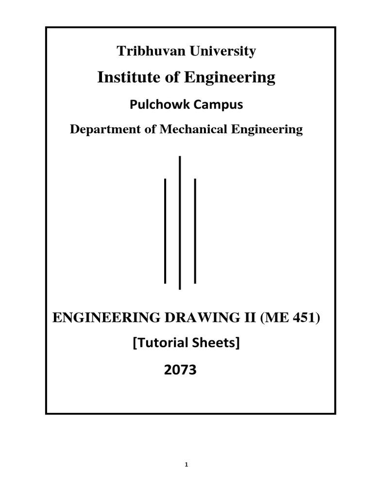 Engineering Drawing II Tutorial   Engineering Tolerance