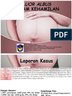 Fluor Albous Dalam Kehamilan PKM Minasa Upa