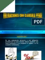 Obligaciones Con Clausula Penal Exposicion