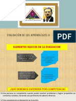 Evaluación de Los Aprendizajes II