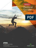 Itinerario de formación en Pastoral Escolar