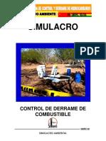 SIMULACRO DERRAME ITAGUAZURENDA