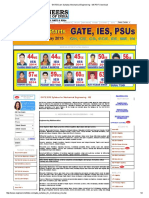 GATE Exam Syllabus Mechanical Engineering - ME PDF Download