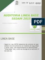 LINEA BASE SEDAM 2016.pptx