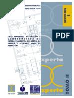 GUÍA NACIONAL DE DISEÑO Y CONSTRUCCIÓN DE ESTABLECIMIENTOS DE SALUD DE PRIMER Y SEGUNDO NIVEL DE ATENCIÓN