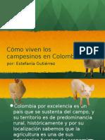 Exposiciones contextualizacion Como viven los campesinos