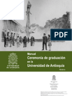 Manual ceremonias de grado