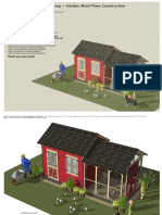 CB202 _ Combo Chicken Coop Garden Shed Plans Construction - PDF file.pdf