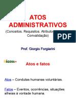 Atos Administrativos