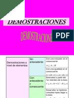 DEMOSTRACIONES CONJUNTOS